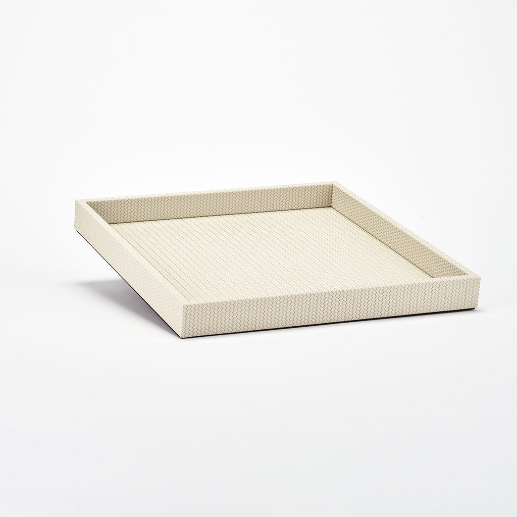 PINETTI SQUARE TRAY L · SAMURAI FIRENZE CREAM