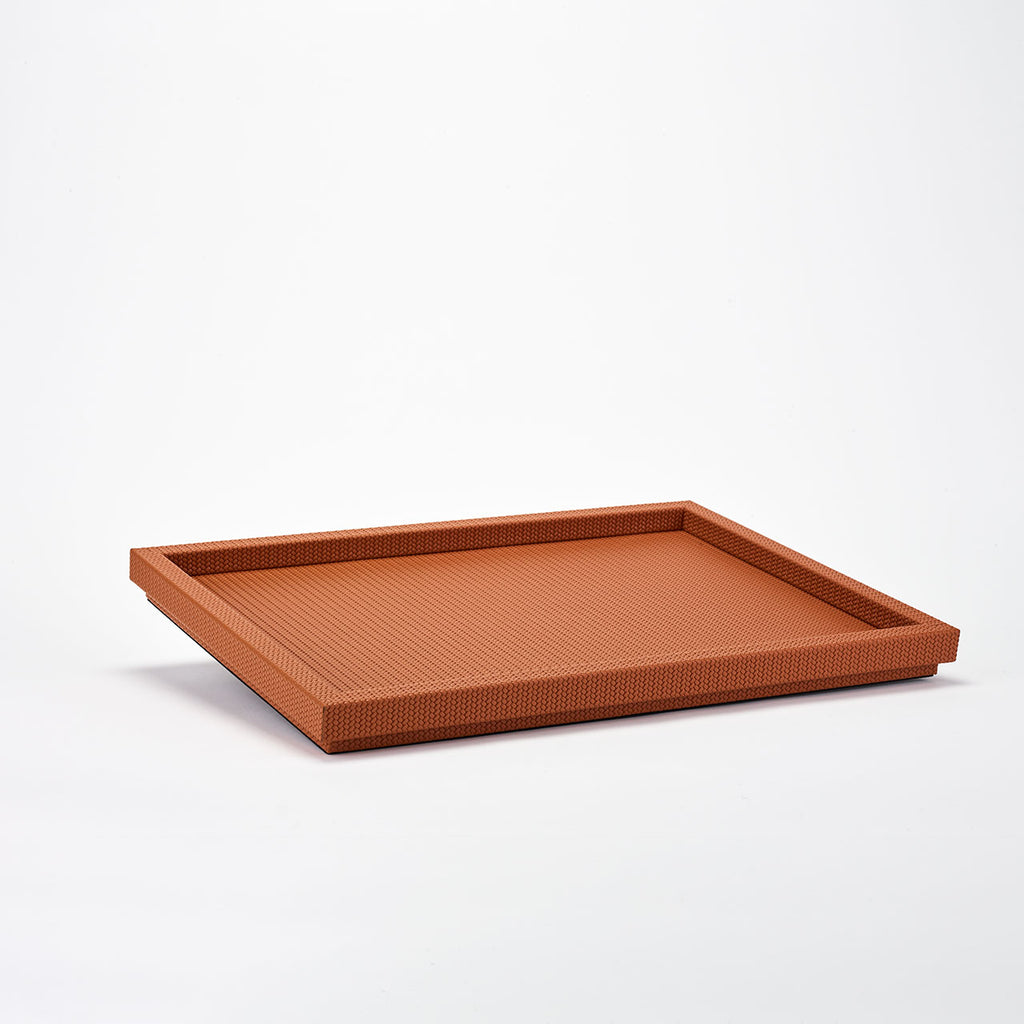 PINETTI RECTANGULAR TRAY XL · SAMURAI FIRENZE CAMEL
