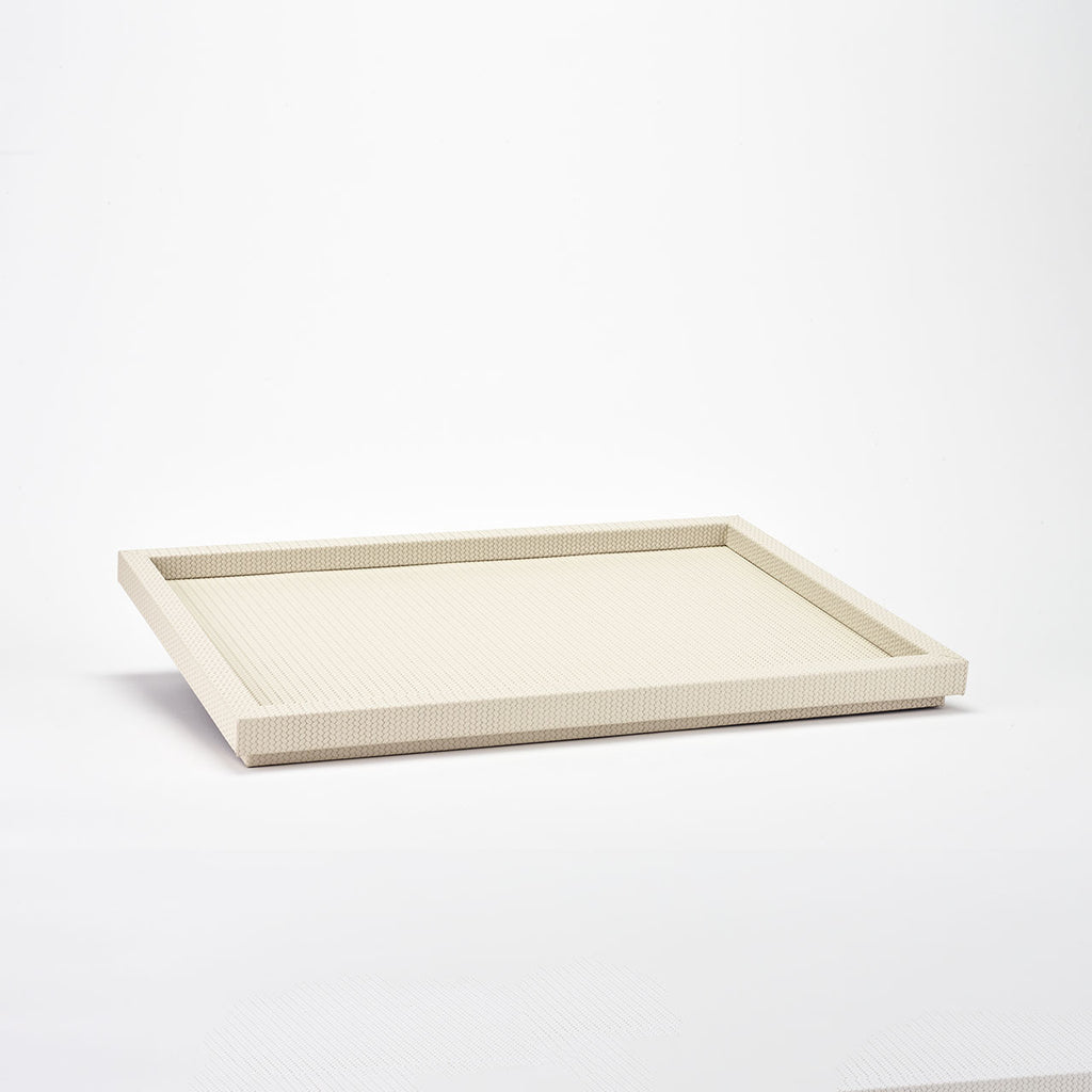 PINETTI RECTANGULAR TRAY XL · SAMURAI FIRENZE CREAM