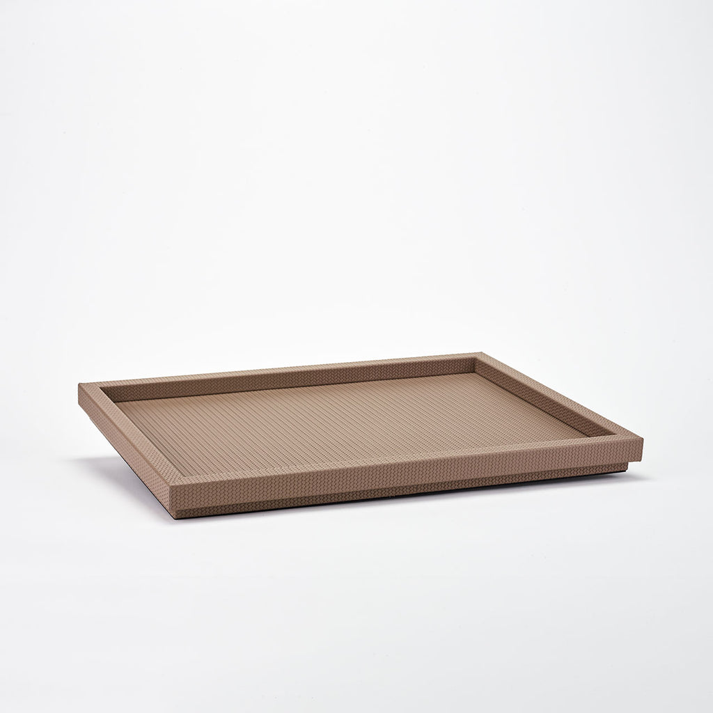PINETTI RECTANGULAR TRAY XL · SAMURAI FIRENZE TAUPE