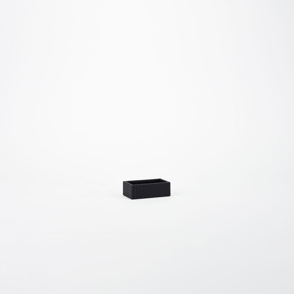 PINETTI SMALL RECTANGULAR TRAY · FIRENZE BLACK