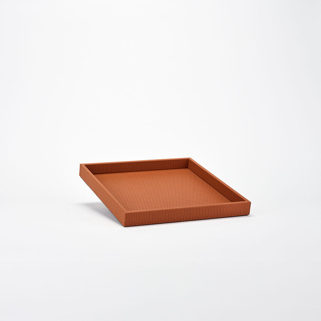PINETTI SQUARE TRAY M · FIRENZE CAMEL