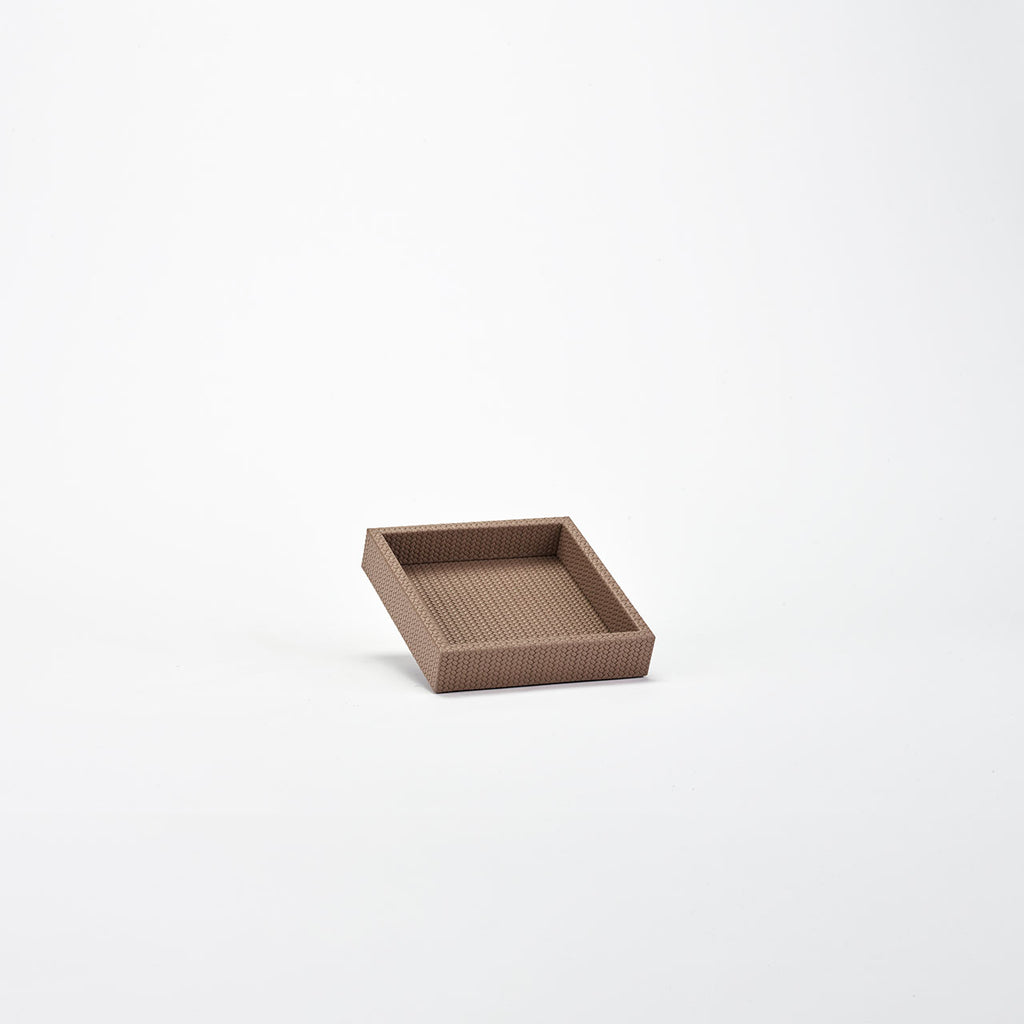 PINETTI SQUARE TRAY M · FIRENZE TAUPE