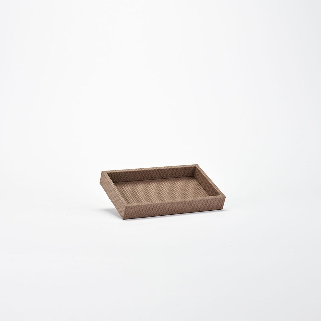 PINETTI RECTANGULAR TRAY S · FIRENZE TAUPE