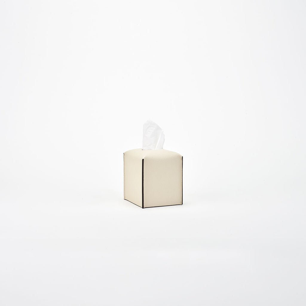 PINETTI TISSUE BOX SQUARE · LIVERPOOL CREAM