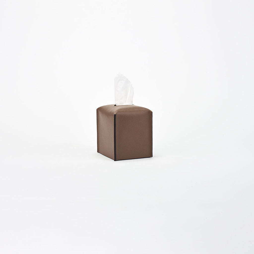 PINETTI TISSUE BOX SQUARE · LIVERPOOL EARTH