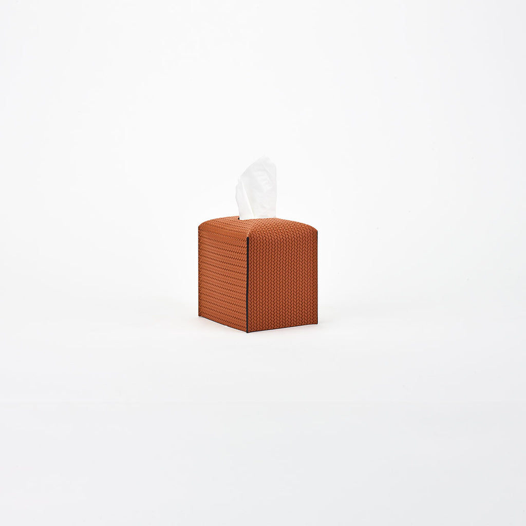 PINETTI TISSUE BOX SQUARE · FIRENZE CAMEL