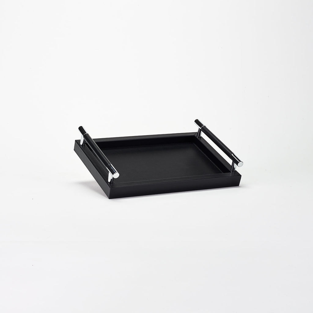 PINETTI RECTANGULAR TRAY S · DEDALO LONDON BLACK