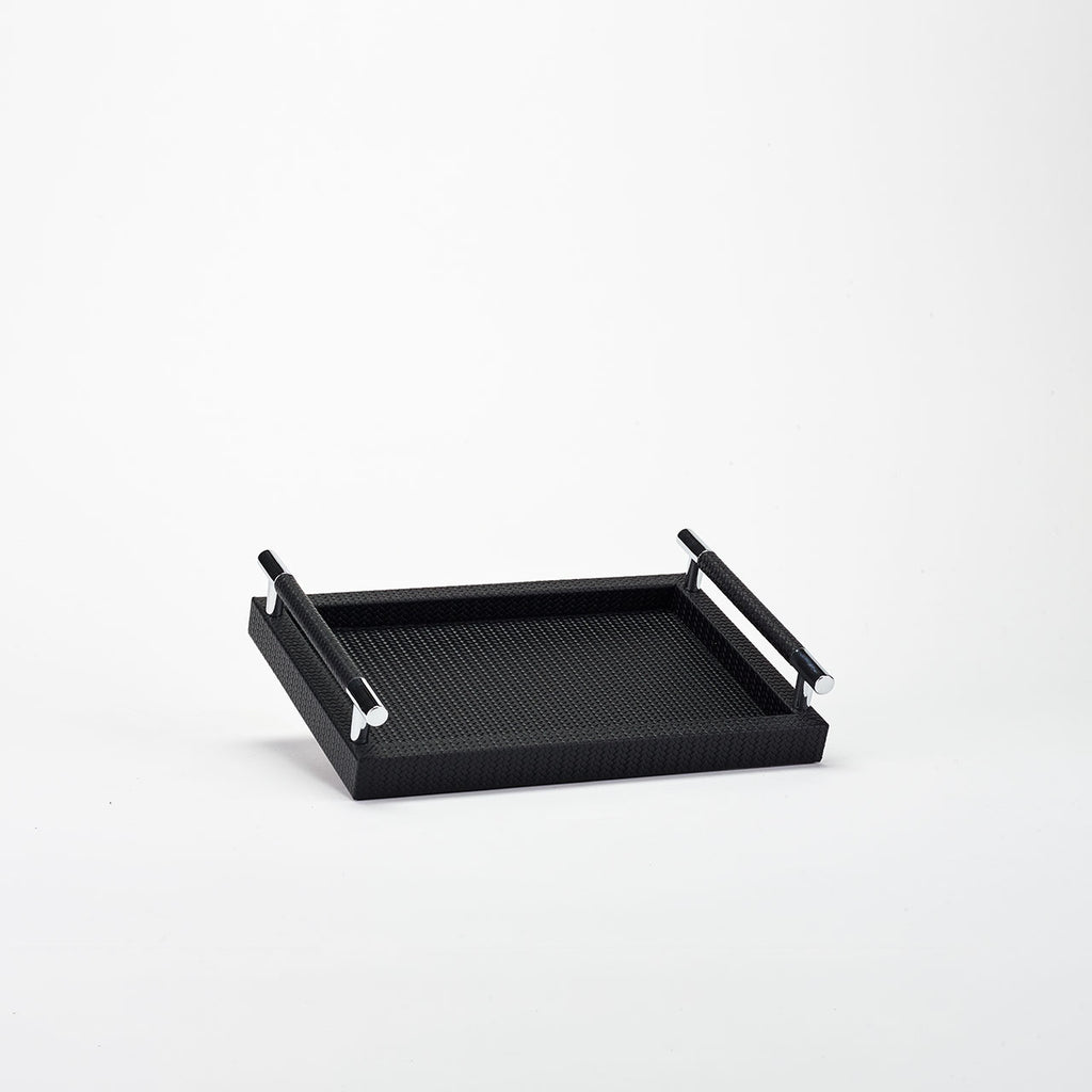 PINETTI RECTANGULAR TRAY S · DEDALO FIRENZE BLACK