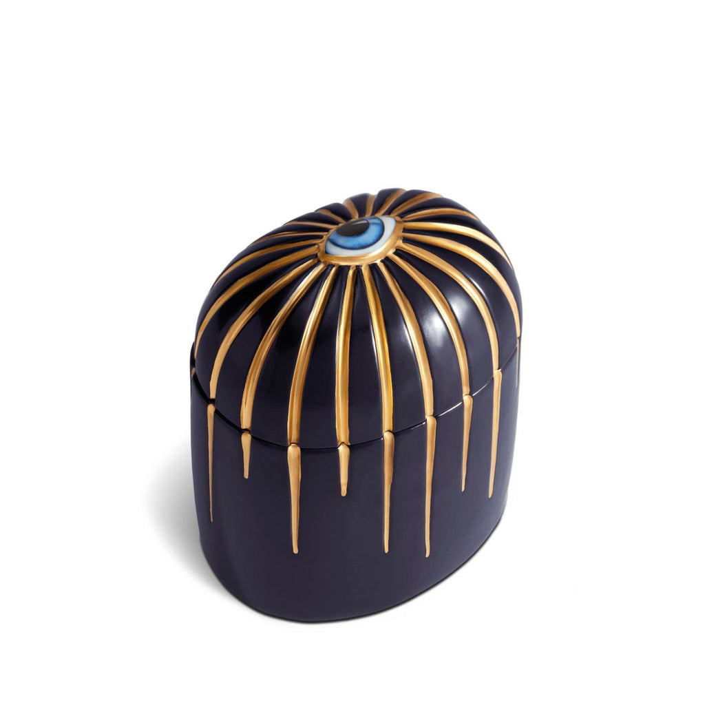 Lito Scented candle colour: dark blue&gold