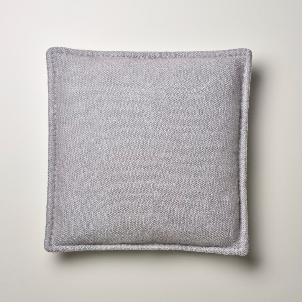 CASHMERE PILLOW WITH LEATHER DETAIL CLOUD