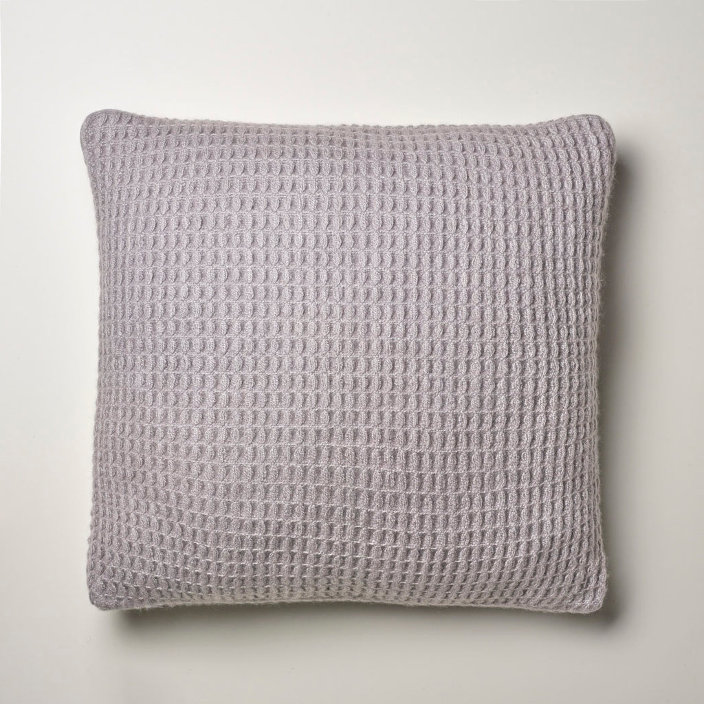 CASHMERE PILLOW WAFFLE WEAVE · CLOUD