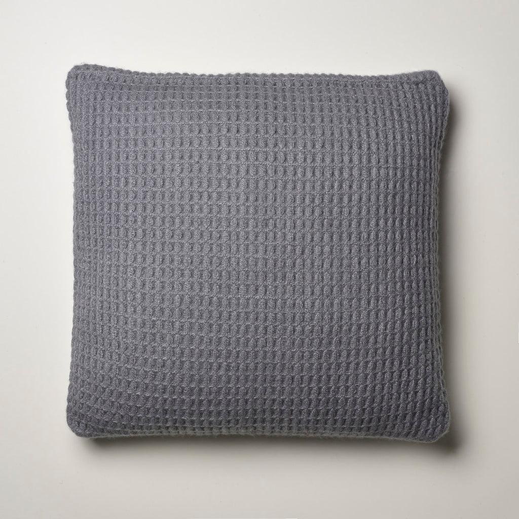 CASHMERE PILLOW WAFFLE WEAVE · STONE