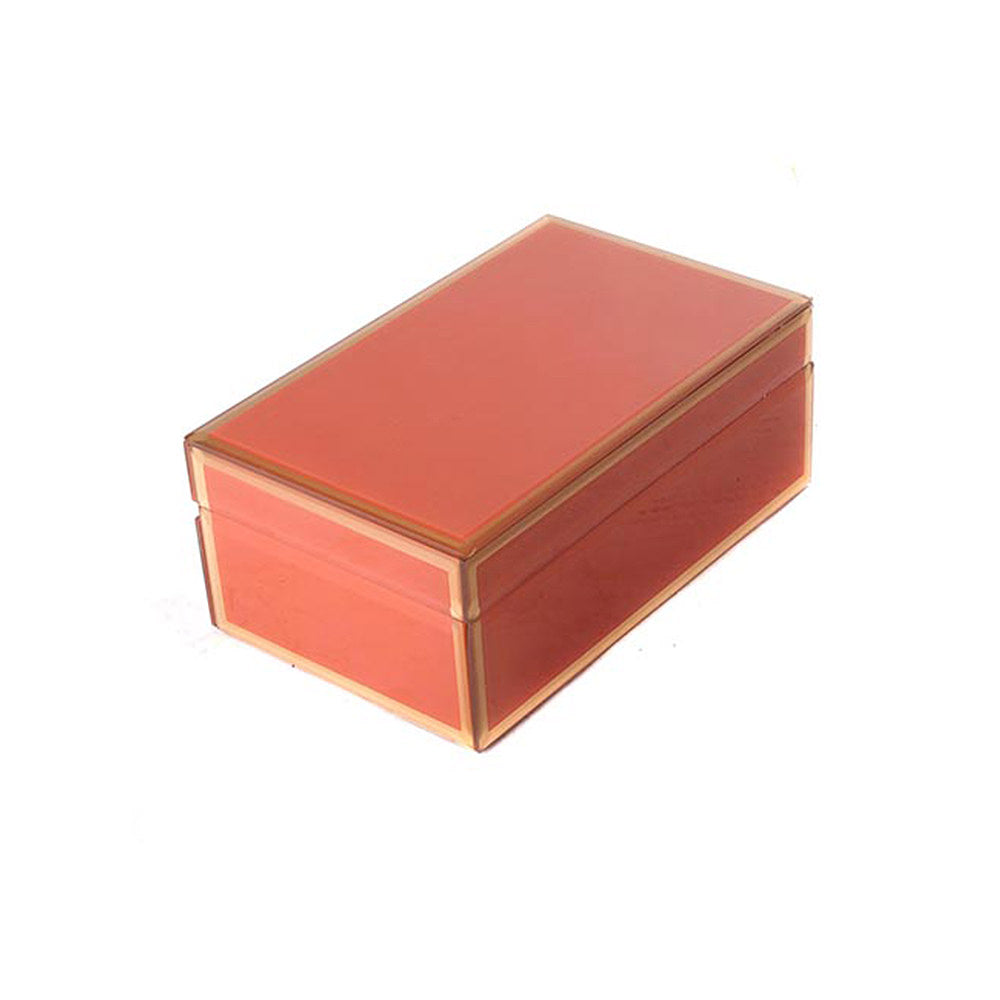 STORAGE BOX GOLDEN ORANGE MEDIUM