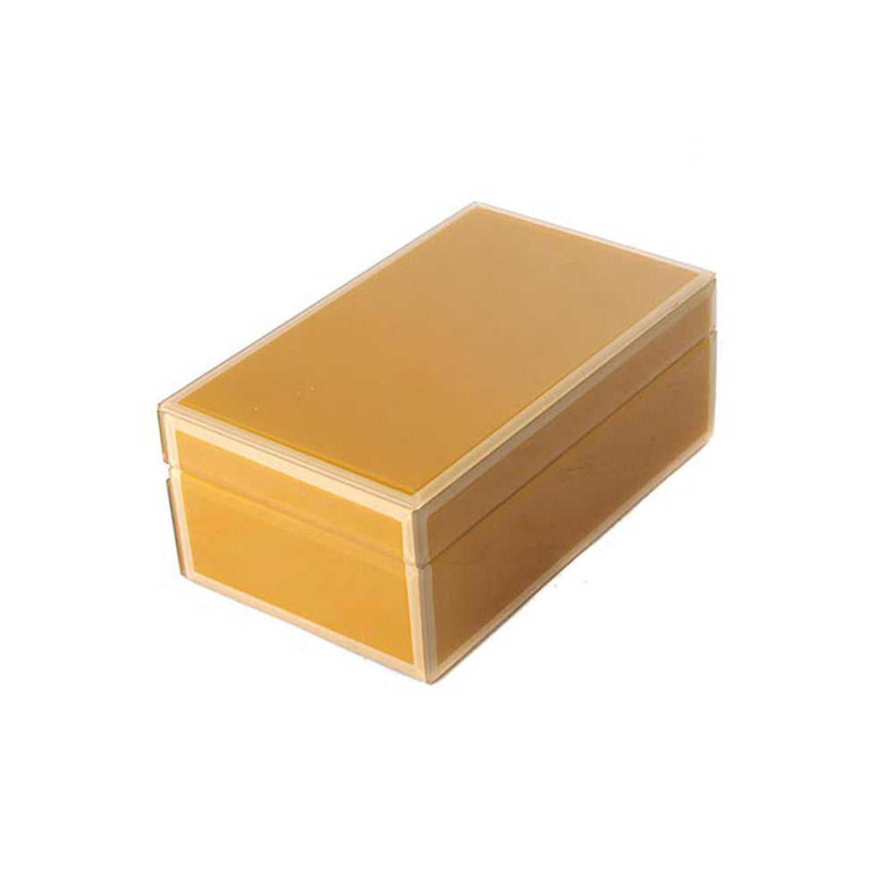 STORAGE BOX YELLOW MEDIUM