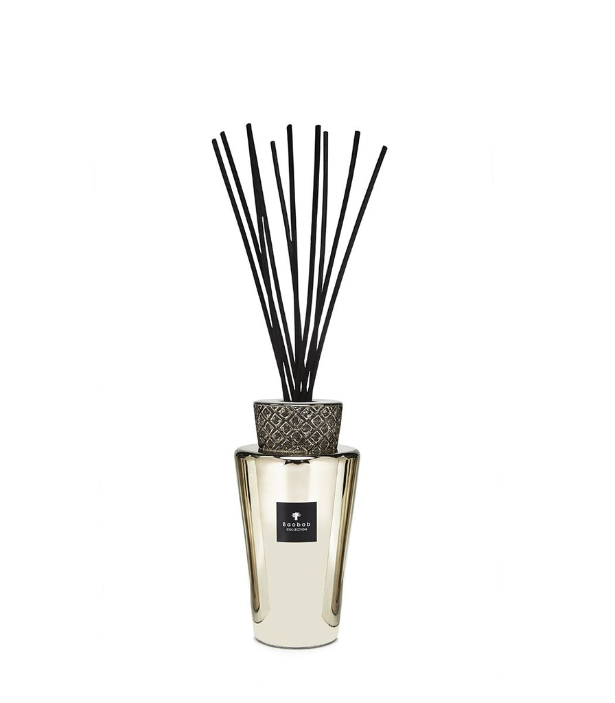 BAOBAB TOTEM LUXURY BOTTLE DIFFUSER PLATINUM MEDIUM 2L
