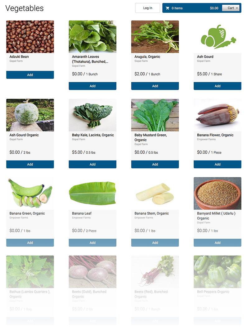 Click to see all Indian Produce