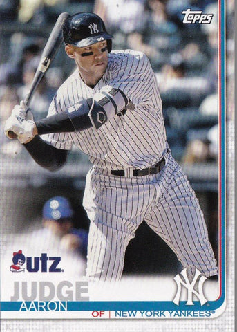 2019 Topps UTZ Aaron Judge Baseball Card #4 - XFMSports