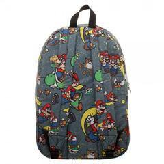 Snes Mario Sublimated Backpack - XFMSports