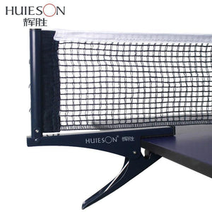Huieson 1 Set Professional Standard Table Tennis Mesh Net Ping Pong Table Net Rack Kit Table Tennis Accessories Clamp Types