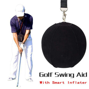 New Golf Swing Trainer Ball With Golf Smart inflatable Assist Posture Correction Training For Golfers Dropshipping New Black