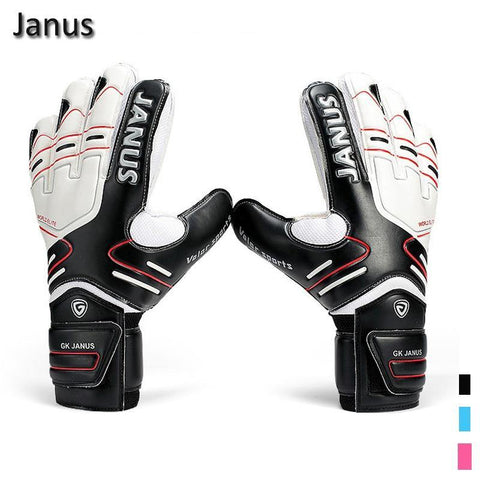 New Latex Professional Men's Soccer Goal Keeper Gloves Finger Protection Football Bola De Guantes Futbol Luvas De Guarda Redes