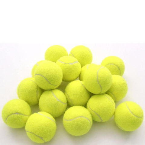 New Tennis Balls  Professional Reinforced Rubber  Shock Absorber High Elasticity Durable Training Ball for Club School