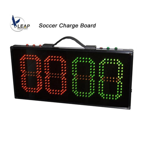Soccer Substitution Board LED Football Game Injury Stop Time Display Boards Change Player 1 side Sports Referee Equipment