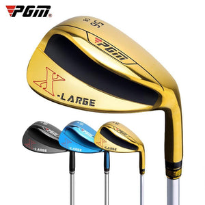 PGM Golf Wedges 56 60 Degrees Increase Size Version Steel Golf Clubs Men's and Women's Unisex Sand Widened Bottom Wedges SG004