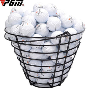 100 pcs Professional Match Level 3 Layer Golf Balls with Mark Metal Storage Basket Resilient Rubber Club Swing Trainer Ball Gift