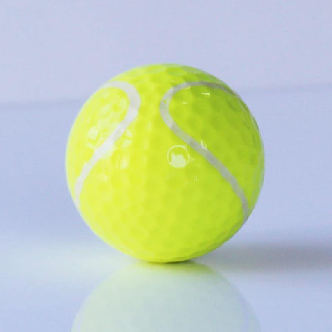 Similar Tennis Ball Golf Ball Two Layers Golf Ball Golf Game Ball Hot Sale 6pcs/lot