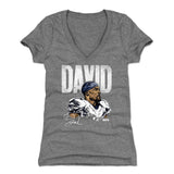 David Johnson Women's V-Neck T-Shirt | 500 LEVEL