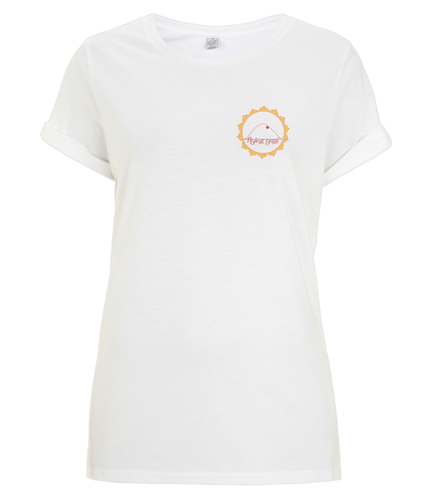 Rolled Sleeve T-Shirt FLying Jogi (Organic Cotton)