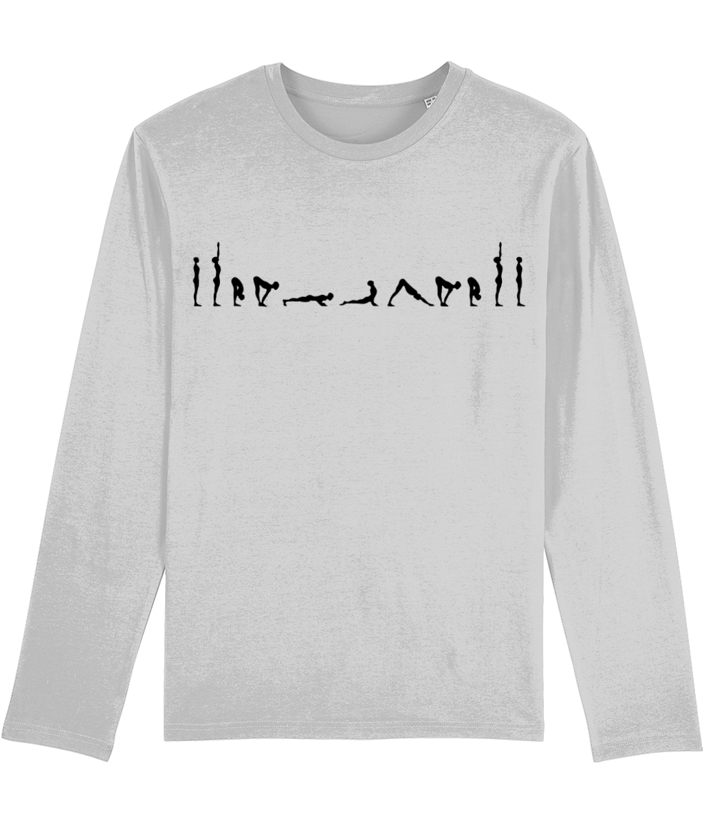 Long Sleeve T-Shirt Sun Salutations (Organic Cotton)