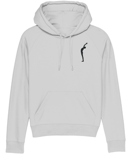 Embroidered Hoodie Salute (Organic Cotton)