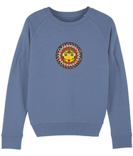 Load image into Gallery viewer, Women Sweatshirt Madhubani Sun