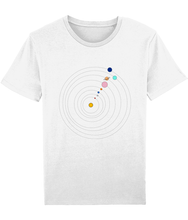 Load image into Gallery viewer, Jersey T-Shirt Solar System (Organic Cotton)