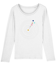 Load image into Gallery viewer, Long Sleeve Jersey Shirt Solar System (Organic Cotton)