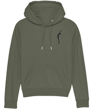 Load image into Gallery viewer, Embroidered Hoodie Salute (Organic Cotton)