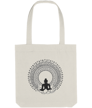 Load image into Gallery viewer, Tote Bag Buddha (Recycled Cotton + Recycled Polyester)