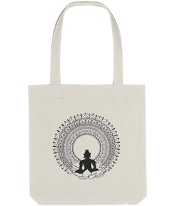 Tote Bag Buddha (Recycled Cotton + Recycled Polyester)