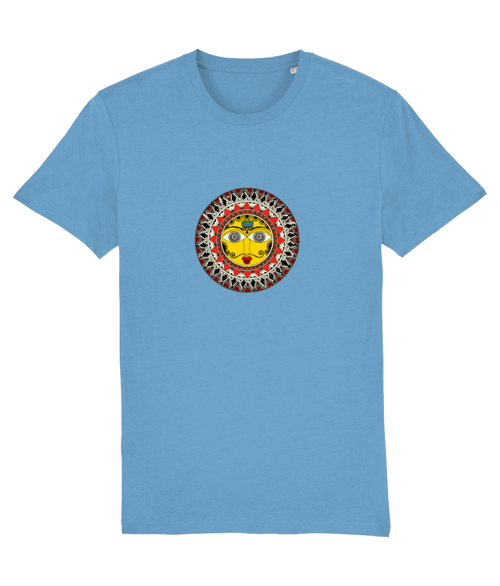 Madhubani Sun Men's T-Shirt