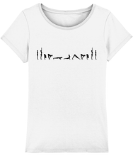 Load image into Gallery viewer, Jersey T-Shirt Sun Salutations (Organic Cotton)