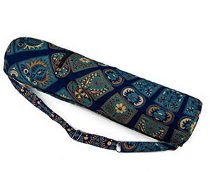 "Yoga Mat Bag ""Mandala"" (Blue)"