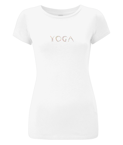 Slim-Fit Jersey T-Shirt Yoga (Organic Cotton)