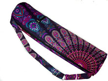 Load image into Gallery viewer, Yoga Mat Bag Mandala (Purple)