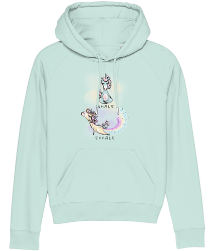 Yoga Unicorn Women Hoodie (Organic Cotton)