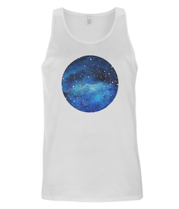 Men's Vest Universe Watercolor (Organic Cotton)