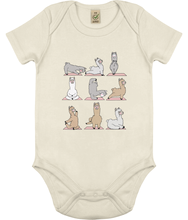 Load image into Gallery viewer, Llama Yoga Baby Onesie (Organic Cotton)