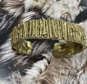 Beryl Dingemans- Gold Bangle